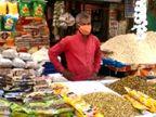 વડોદરામાં કોરોનાની દહેશતના કારણે હોળી ધુળેટીના પૂર્વ દિવસે પણ બજારોમાં ગ્રાહકોની ભીડ ઓછી, વેપારીઓ મૂંઝવણમાં|વડોદરા,Vadodara - Divya Bhaskar
