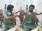 રાજકોટમાં ખાનગી હોસ્પિટલના તબીબે પોતાના જ હાથે વેક્સિનનો પ્રથમ ડોઝ લીધો, ગુજરાતમાં સ્વ-રસીકરણનો પ્રથમ કિસ્સો|રાજકોટ,Rajkot - Divya Bhaskar