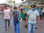 વડોદરા મહાનગરપાલિકાની ટીમે લાઉડ સ્પીકર દ્વારા માસ્ક પહેરવા અને સોશિયલ ડિસ્ટન્સ જાળવવાની અપીલ કરી વડોદરા,Vadodara - Divya Bhaskar