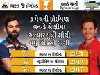 બન્ને ટીમોએ 70 સિક્સર્સ મારીને 2 વર્ષ જૂનો રેકોર્ડ તોડ્યો; રોહિત-ધવનની જોડીએ વનડેમાં 5 હજાર રન પૂરા કર્યા ક્રિકેટ,Cricket - Divya Bhaskar