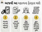 1 એપ્રિલથી ઇન્કમ ટેક્સ અને બેન્કિંગ સહિત 11 નિયમોમાં ફેરફાર થશે, અહીં જુઓ આ નિયમો કયા છે|યુટિલિટી,Utility - Divya Bhaskar