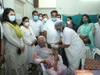 ચૂંટણીમાં ભાન ભૂલ્યા અને હવે વેક્સિનેશન માટે MLA, કોર્પોરેટરો-પેજપ્રમુખોને મેદાને ઉતાર્યાં, રસીકરણ કરાવવા 1.86 લાખ કાર્યકરો કામે લાગ્યા|અમદાવાદ,Ahmedabad - Divya Bhaskar