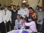 ભાવનગર બાર એસોસિયેશન તથા ક્રીમીનલ બાર એસોસિયેશનના સંયુક્ત ઉપક્રમે કોરોના રસીકરણ કેમ્પનું આયોજન કરાયું|ભાવનગર,Bhavnagar - Divya Bhaskar