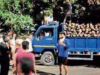 કોરોના મૃતદેહ ખાસવાડીથી ઉંડેરા સ્મશાનમાં ખસેડાતાં લોકોમાં રોષ વડોદરા,Vadodara - Divya Bhaskar