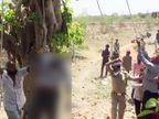 રાજકોટમાં બકરાના ચારા માટે ડાળખી કાપવા પ્રૌઢ ઝાડ પર ચડ્યા, 11 KV વીજ લાઈનને અડી જતા ઘટના સ્થળે મોત|રાજકોટ,Rajkot - Divya Bhaskar