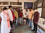 કોરોના કાળમાં પણ સ્કૂલોએ સંપૂર્ણ ફી વસુલી, એન.એસ.યુ.આઈ અને યુથ કોંગ્રેસ દ્વારા વિરોધ સાથે શિક્ષણ અધિકારીને આવેદનપત્ર આપ્યું|જામનગર,Jamnagar - Divya Bhaskar