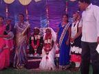 આંધ્ર પ્રદેશમાં 2 ફૂટના દુલ્હા અને 4 ફૂટની દુલ્હને ચર્ચમાં લગ્ન કર્યા, બંનેનાં પરિવારની ચિંતા પૂરી થઈ અને નવદંપતીને આશીર્વાદ આપ્યા|લાઇફસ્ટાઇલ,Lifestyle - Divya Bhaskar