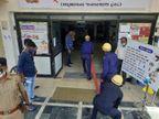 રાજકોટની જયનાથ કોવિડ-19 હોસ્પિટલમાં ફાયર વિભાગની મોકડ્રીલ, હોસ્પિટલ સ્ટાફને આગમાં દર્દીઓને સલામત સ્થળે ખસેડવા પ્રેક્ટિકલ માહિતી અપાઇ રાજકોટ,Rajkot - Divya Bhaskar