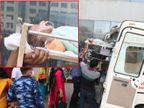 કોરોનાના દર્દીઓ માટે જગ્યા કરવા ઓક્સિજન પર રહેલાં બાળકોને 'મન ફાવે તેમ' એમ્બ્યુલન્સમાં ભરી બીજા વોર્ડમાં જવાની ફરજ પાડી|અમદાવાદ,Ahmedabad - Divya Bhaskar