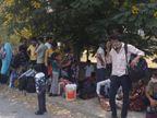 મુંબઇના પરિવારો મહારાષ્ટ્રથી ચાલતાં વાપી પહોંચ્યા, કોરોના ટેસ્ટ વિના ગુજરાતમાં ઘૂસ્યાં તો પોલીસે રોક્યાં|કોસંબા,Kosamba - Divya Bhaskar