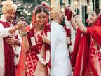 દિયા મિર્ઝાએ પાંચ રીતે ઈકો-ફ્રેન્ડલી લગ્ન કર્યા, ડેકોરેશનથી લઈને જમણવારમાં દરેક નાની વસ્તુનું ધ્યાન રાખ્યું બોલિવૂડ,Bollywood - Divya Bhaskar