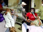 કોરોનામાં અન્ય બીમારીથી પીડાતા દર્દીઓની હાલત પણ કફોડી, નોન કોવિડ વોર્ડમાં ઓક્સિજનનું પ્રેશર ઓછું હોવાથી દર્દીઓ ડચકા ભરે છે રાજકોટ,Rajkot - Divya Bhaskar