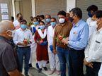 પાટણની વિવિધ સેવાભાવી સસ્થાઓ દ્વાર કોરોના વોરિયર્સ તરીકે ફરજ બજાવતા આરોગ્ય કર્મચારીઓને પ્રોત્સાહિત કરવા We Support worriesની ઝુંબેશ શરૂ કરાઇ|પાટણ,Patan - Divya Bhaskar