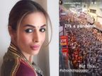 એક્ટ્રેસ મલાઈકા અરોરાએ કુંભનાં મેળામાં ઉમટેલી ભીડ જોઇને કહ્યું, 'મહામારી દરમિયાન આવો ફોટો શોકિંગ છે' બોલિવૂડ,Bollywood - Divya Bhaskar