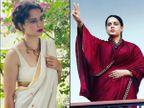 કંગના રનૌતની 'થલાઈવી' ફિલ્મ આવતા મહિને એમેઝોન પ્રાઈમ પર રિલીઝ થશે, પણ મેકર્સને હજુ પણ થિયેટર્સ ખુલવાની આશા છે|બોલિવૂડ,Bollywood - Divya Bhaskar