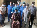 સુરતની સ્મીમેર હોસ્પિટલમાં સગર્ભા મહિલાએ સાત દિવસની સારવારથી કોરોનાને હરાવ્યો|સુરત,Surat - Divya Bhaskar
