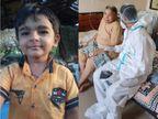 રાજકોટ સિવિલમાં કોરોના પોઝિટિવ 4 વર્ષના બાળકનું આંતરડાનું સફળ ઓપરેશન, 21 દિવસમાં 80 વર્ષના વૃદ્ધાએ કોરોનાને હરાવ્યો|રાજકોટ,Rajkot - Divya Bhaskar