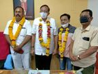 ભાવનગર શહેર કોંગ્રેસ સમિતિ દ્વારા વિરોધપક્ષના નેતા તરીકે ભરતભાઈ બુધેલીયાની નિમણૂક કરવામાં આવી|ભાવનગર,Bhavnagar - Divya Bhaskar