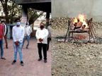 કુવાડવાના સરપંચનું આક્રંદ; નેતાઓ, અમલદારોએ નોધારા છોડી દીધા, આંખ સામે 10 દિ'માં 40 ગ્રામજનો તરફડીને મર્યા, શેરીમાં ડૂસકા સંભળાય છે રાજકોટ,Rajkot - Divya Bhaskar
