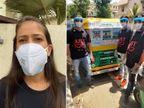 એમ્બ્યુલન્સની તંગી વચ્ચે યુવતીએ ગ્રુપ સાથે 'ઓટો એમ્બ્યુલન્સ'નો પ્રોજેક્ટ શરૂ કર્યો, રિક્ષાચાલક અને કોરોના દર્દીને ફાયદો થશે અમદાવાદ,Ahmedabad - Divya Bhaskar