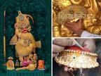સૌપ્રથમવાર હનુમાનજયંતીએ જુઓ શ્રીકષ્ટભંજન દેવ હનુમાનજીના રૂ. 6.50 કરોડના સુવર્ણ અને હીરાજડિત વાઘાનો મેકિંગ વીડિયો|મારું ગુજરાત,Gujarat - Divya Bhaskar