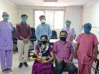 સુરતમાં 13 દિવસના નવજાત બાળકે 7 દિવસની સારવાર દરમિયાન કિલકિલાટ કરતાં કોરોનાને હરાવ્યો સુરત,Surat - Divya Bhaskar