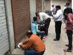 ભાવનગરમાં જાહેરનામું ભંગ કરતાં વેપારીઓ સામે તંત્ર આકરા પાણીએ, ત્રણ દુકાનો સીલ કરી|ભાવનગર,Bhavnagar - Divya Bhaskar