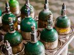 લોકો ઓક્સિજન માટે નાઈટ્રોજન અને સોડાગેસના સિલિન્ડર લાવે છે|રાજકોટ,Rajkot - Divya Bhaskar