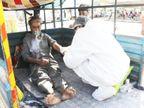 દરવાજે બોર્ડ મૂક્યા બાદ SVPમાં માત્ર 2 કલાકમાં જ 115 દર્દી દાખલ કર્યા, હાથીજણના દર્દીની તબિયત બગડતા ટેમ્પામાં સારવાર કરી અમદાવાદ,Ahmedabad - Divya Bhaskar