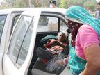ધન્વંતરિ હોસ્પિટલ બહાર વહેલી સવારે લાઈનમાં ઊભાં રહી મહિલાએ ટોકન લીધું, વૃદ્ધાની ગંભીર હાલત જોઈ ટોકન આપી દીધું|અમદાવાદ,Ahmedabad - Divya Bhaskar