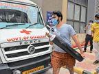 જી.જી. હોસ્પિટલને ઓક્સિજન સપ્લાય માટે રોજ યુદ્ધ લડવું પડે છે, રોજની જરૂરિયાત પુરી કરતા તંત્રને પરસેવો વળી જાય છે|જામનગર,Jamnagar - Divya Bhaskar