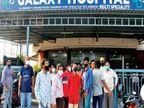 17 ટન ઓક્સિજન વધુ મળ્યો છતાં 5 હોસ્પિટલ હાંફી ગઇ, 95થી વધુ દર્દી પર શિફ્ટિંગનું સંકટ|વડોદરા,Vadodara - Divya Bhaskar