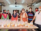 યાત્રાધામ દ્વારકામાં કોરોના કાળમાં સેવાભાવી પરીવાર દ્વારા વિનામુલ્યે ચાલતી ભોજનસેવા|દ્વારકા,Dwarka - Divya Bhaskar