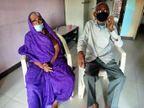 જૂનાગઢના 93 વર્ષીય વૃદ્ધાએ મક્કમ મનોબળથી કોરોનાને આપી માત,સિવિલમાં આઠ દિવસની સારવાર બાદ ઘરે ચાલીને ગયા જુનાગઢ,Junagadh - Divya Bhaskar