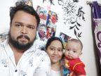 રાજકોટમાં છ માસના બાળક અને તેના માતા-પિતાએ કોરોનાને હરાવ્યો રાજકોટ,Rajkot - Divya Bhaskar