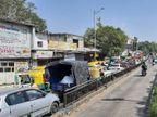 અમદાવાદમાં મિની લોકડાઉનમાં આંશિક છૂટછાટ અપાયાના પહેલા જ દિવસે રસ્તાઓ પર ટ્રાફિક જામ, કાલુપુરથી આસ્ટોડિયા સુધી જામમાં ફસાયા લોકો|અમદાવાદ,Ahmedabad - Divya Bhaskar