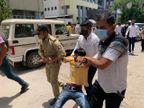રાજકોટમાં નર્સિંગના વિદ્યાર્થીઓની ન્યાયની માંગ, કહ્યું - 22 હજાર પગાર આપવાનો લેખિત આદેશ છતાં મળ્યો નથી, ટીંગાટોળી સાથે અટકાયત|રાજકોટ,Rajkot - Divya Bhaskar