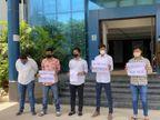 રાજ્યમાં ધોરણ 12ની બોર્ડની પરીક્ષા MCQ આધારિત અને ઓનલાઈન યોજવા NSUIની માંગ અમદાવાદ,Ahmedabad - Divya Bhaskar
