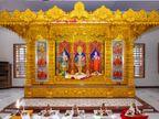 મણિનગર ગાદી સંસ્થાન દ્વારા માનકુવા કચ્છમાં નવનિર્મિત સ્વામિનારાયણ મંદિરમાં મૂર્તિપ્રતિષ્ઠા મહોત્સવ યોજાયો|અમદાવાદ,Ahmedabad - Divya Bhaskar