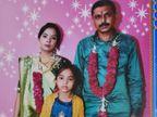 સંડેર ગામના પાટીદાર પરિવારે દીકરાના નિધન બાદ પુત્રવધૂને દીકરી તરીકે ભાન્ડુના યુવક સાથે પરણાવી|પાટણ,Patan - Divya Bhaskar