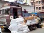 એક તરફ કોરોના અને બીજી તરફ ડીઝલમાં તોતિંગ ભાવ વધારો, રાજકોટમાં 700 ટ્રાન્સપોર્ટરમાંથી 60%ની હાલત કફોડી, ટેક્સમાંથી રાહત આપવા માગ રાજકોટ,Rajkot - Divya Bhaskar