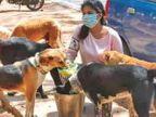 રાંચીની 25 વર્ષીય આર્ચી સેન 200 સ્ટ્રીટ ડોગ્સને રોજ ભોજન કરાવે છે, તેમના માટે વેક્સિન, મલ્ટીવિટામિન્સ, કોલર બેલ્ટ અને ડૉક્ટરની વ્યવસ્થા કરે છે|લાઇફસ્ટાઇલ,Lifestyle - Divya Bhaskar