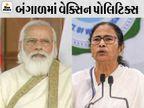 બંગાળમાં વેક્સિન સર્ટિફિકેટ પર મોદીની જગ્યાએ મમતાનો ફોટો હશે; BJPએ કહ્યું- PMપદની ગરિમા પણ નથી માની રહી તૃણમૂલ ઈન્ડિયા,National - Divya Bhaskar