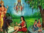 સાવિત્રીએ પતિ માટે 3 દિવસ સુધી વ્રત રાખ્યું હતું, ભારતમાં અમુક સ્થાને જેઠ મહિનાની પૂનમના દિવસે આ વ્રત કરવામાં આવે છે|ધર્મ,Dharm - Divya Bhaskar