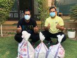 घर-घर भोजन पहुंचाने वाले युवा इंजीनियर्स अब जरूरतमंदों को दे रहे हैं सप्ताहभर का राशन|राजस्थान,Rajasthan - Dainik Bhaskar