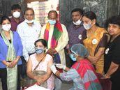 टारगेट से अधिक हुआ वैक्सीनेशन, एक दिन में 70027 लोगों ने लगवाया टीका|फरीदाबाद,Faridabad - Money Bhaskar