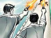 गोलियों की आवाज सुनकर दहशत में आए लोग, आरोपी गिरफ्तार, रायफल जब्त मुरैना,Morena - Money Bhaskar