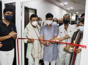 जिस अस्पताल को पूर्व कलेक्टर ने सील किया था, उसी के आईसीयू वार्ड का फीता काटने पहुंचे मंत्री शाह और विधायक|खंडवा,Khandwa - Money Bhaskar