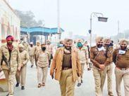 पुलिस ने फरीदकोट में सार्वजनिक स्थलों पर चलाया तलाशी अभियान|मोगा,Moga - Dainik Bhaskar