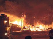 मेडिकल कॉलेज अस्पताल के बाहर 4 फ्रूट स्टालों व ढाबे में लगी आग|मोगा,Moga - Dainik Bhaskar